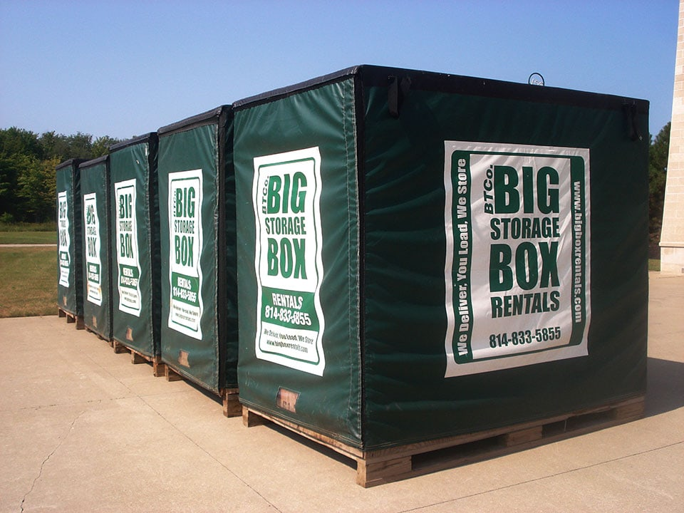 5′ x 8′ Big Box Storage Units