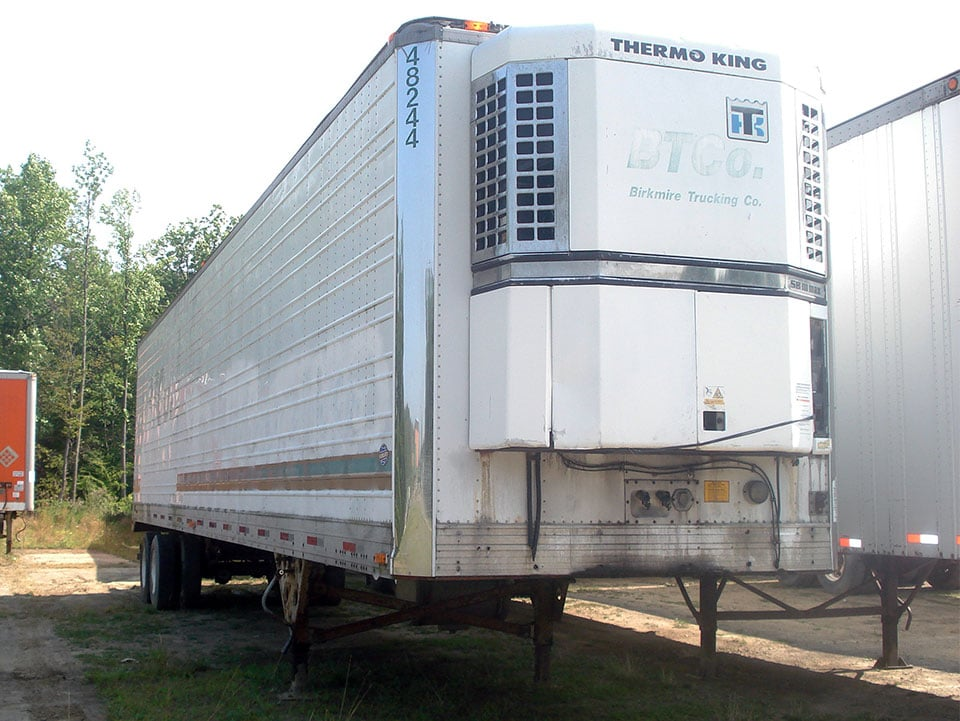 Refrigerated Mobile Shipping Unit