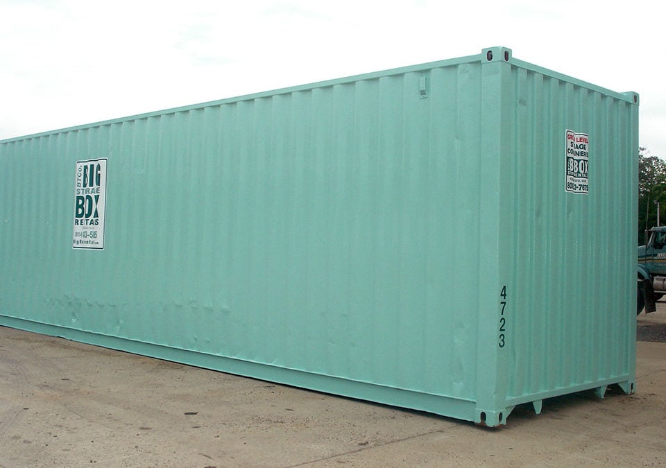 40 Ground Level Storage Container Birkmire Transportation Solutions