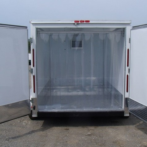 Inside of a Refrigerated Mobile Unit