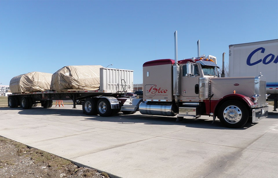 Flat Bed Shipping Freight