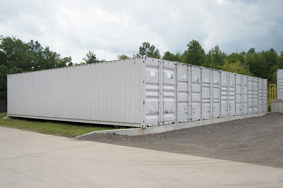Traditional Outdoor Commercial Storage