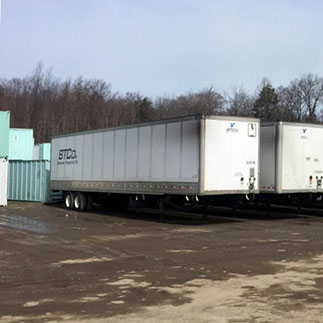 Storage Trailers on Wheels