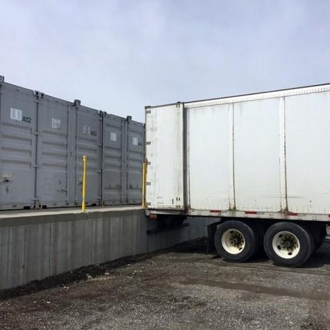 Dock Height Storage