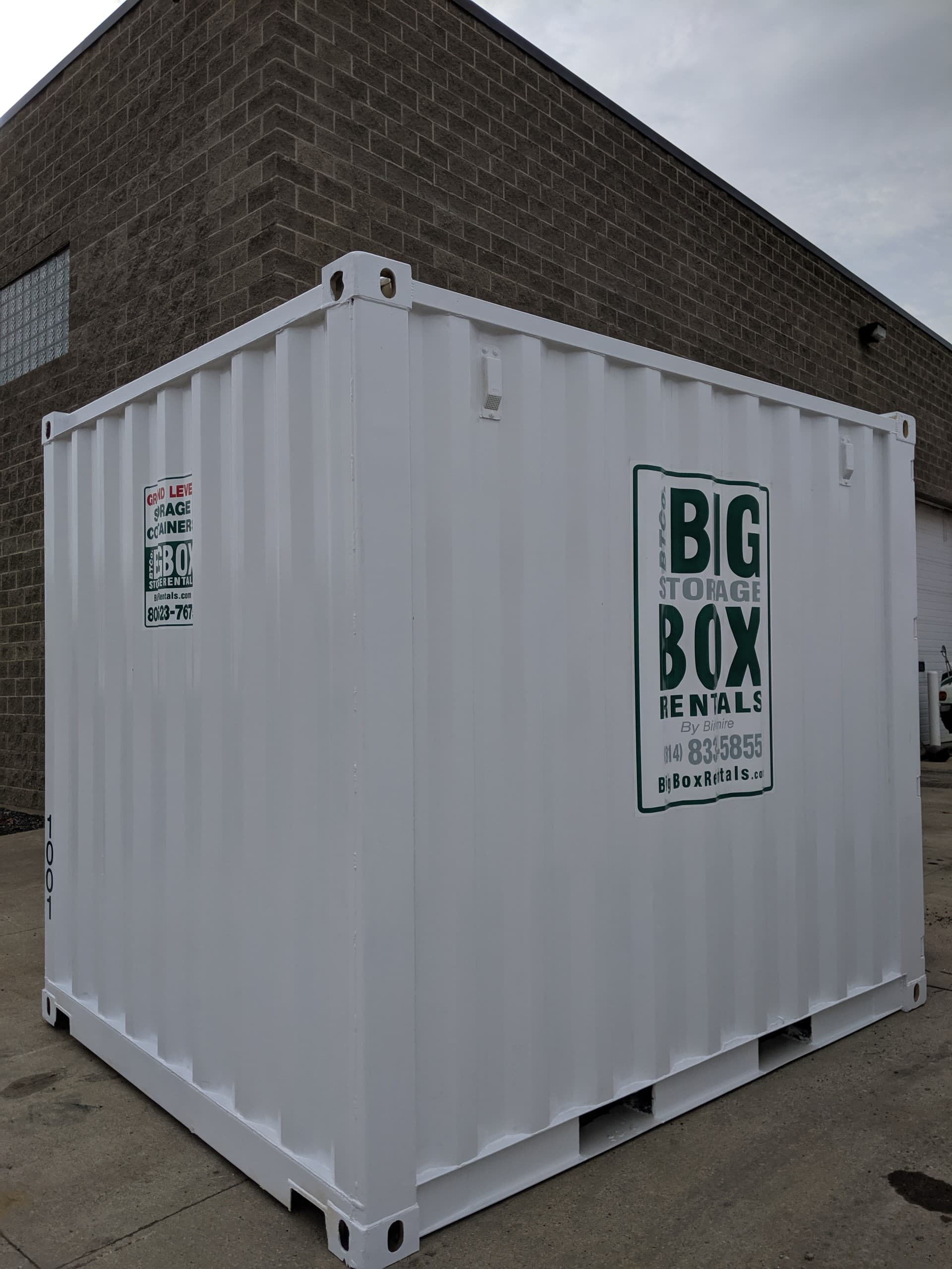 10×10 Container